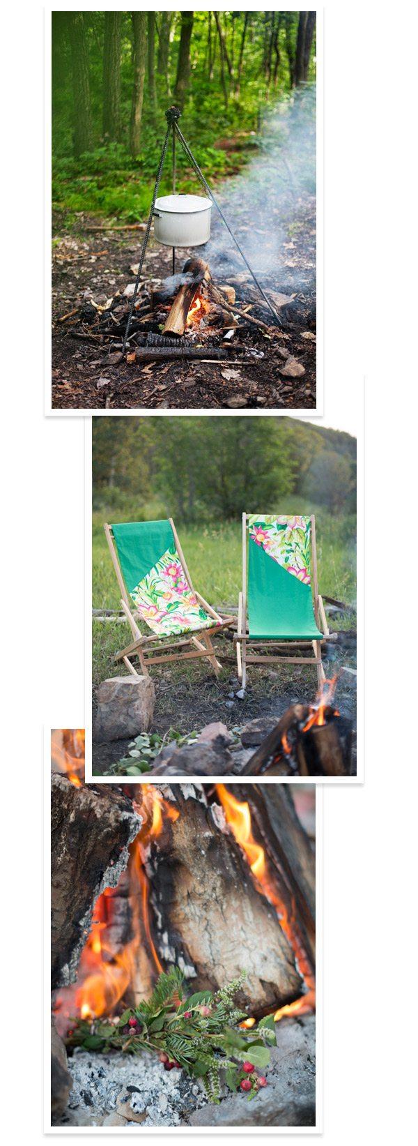 Camping Inspired DIYs