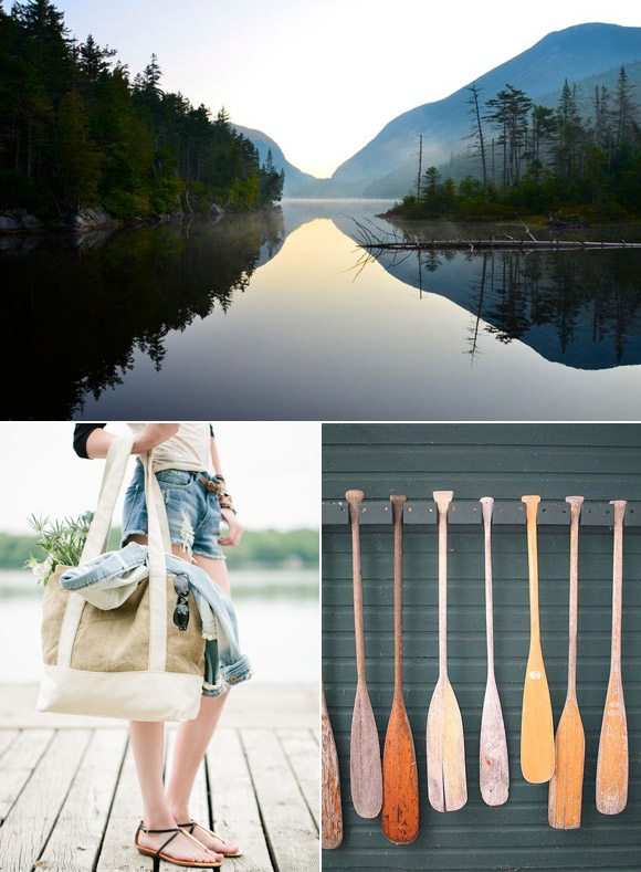 Color Palette: Denim and River