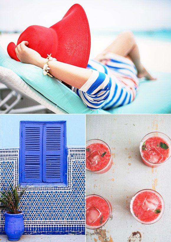 Color Palette: Mediterranean and Moroccan