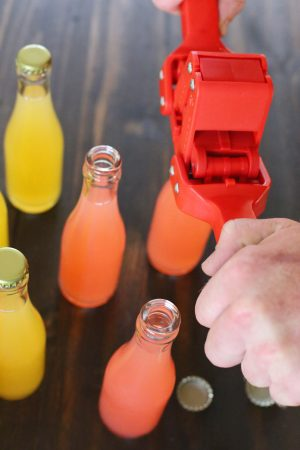 DIY Bottled Cocktails by @cydconverse