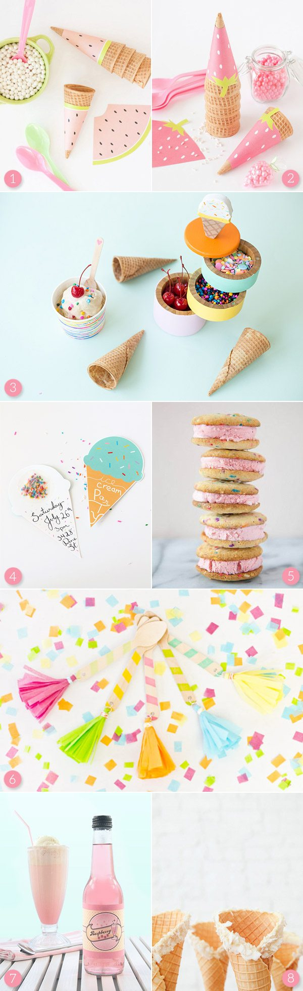Ice Cream Party Ideas from @cydconverse
