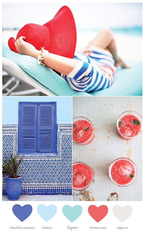 Color Palette: Mediterranean and Moroccan