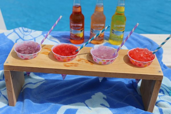 Boozy Summer Snow Cones by @cydconverse