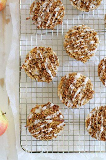 Oatmeal Cookie Apple Pies