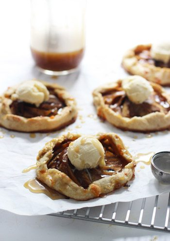 Caramel Apple Galettes