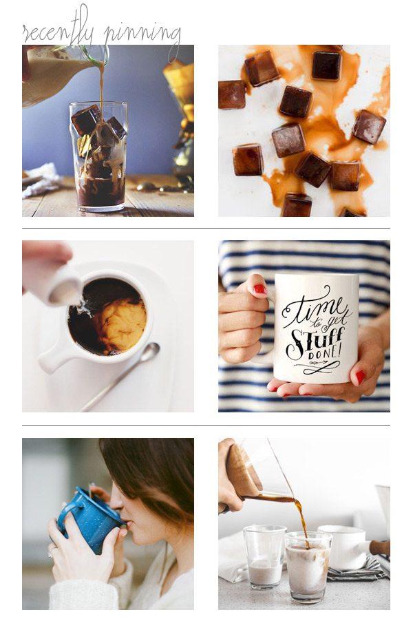 Recently Pinning: Coffee Break