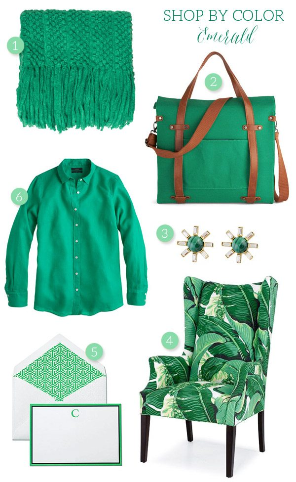 Shop by Color: Emerald from @cydconverse