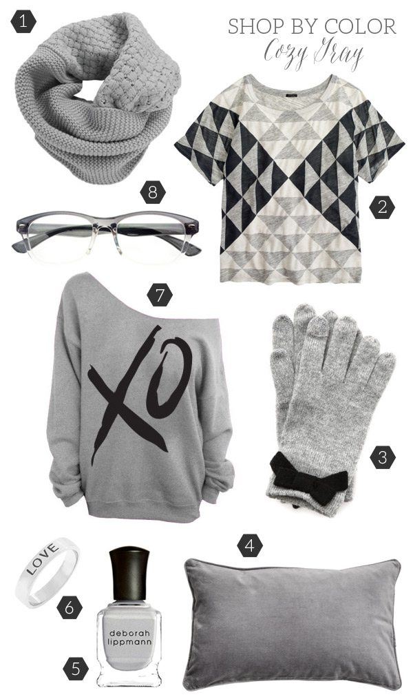 Shop By Color: Cozy Gray