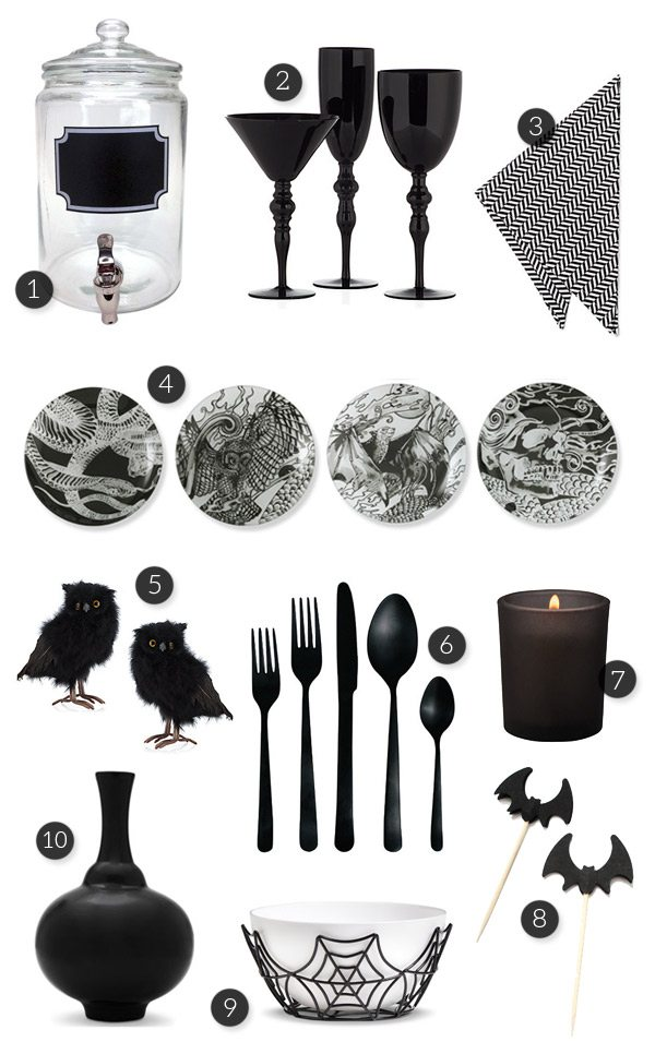 Spooky Glam Halloween Party Ideas