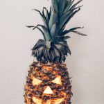 A Pineapple Jack O'Lantern