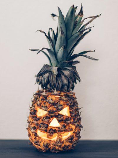 A Pineapple Jack O'Lantern thumbnail