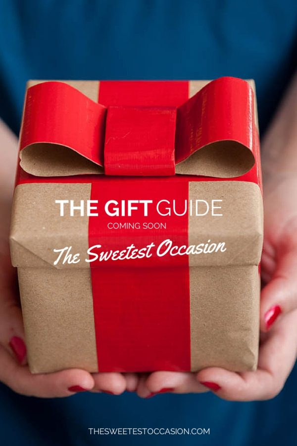 The Gift Guide - @cydconverse