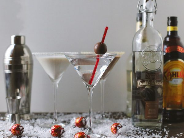 The Ultimate Chocolate Martini Bar from @cydconverse