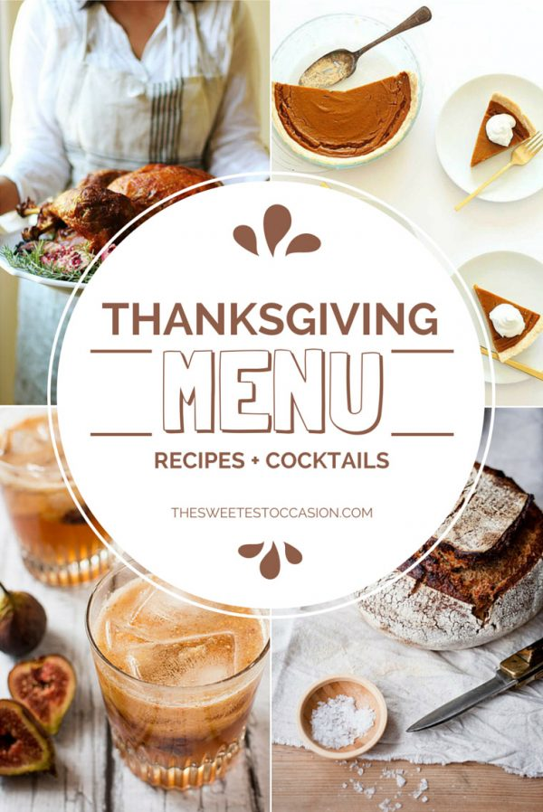 The Ultimate Thanksgiving Menu Guide from @cydconverse