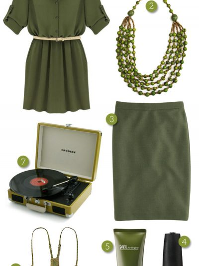 Shop By Color: Olive Green thumbnail