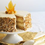Hazelnut Cake with Apple Buttercream