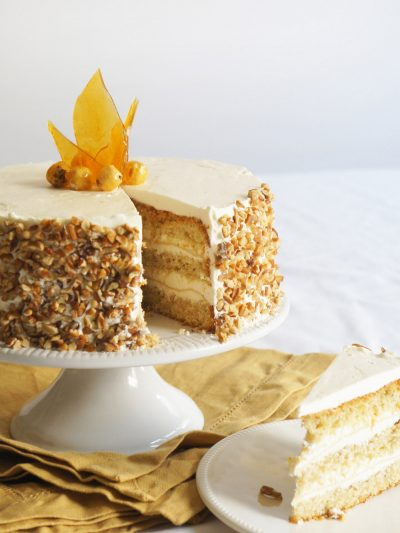 Hazelnut Cake with Apple Buttercream thumbnail