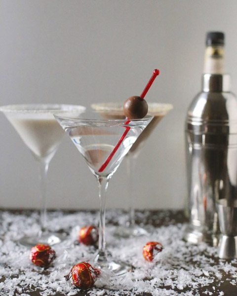 The Ultimate Holiday Martini Bar