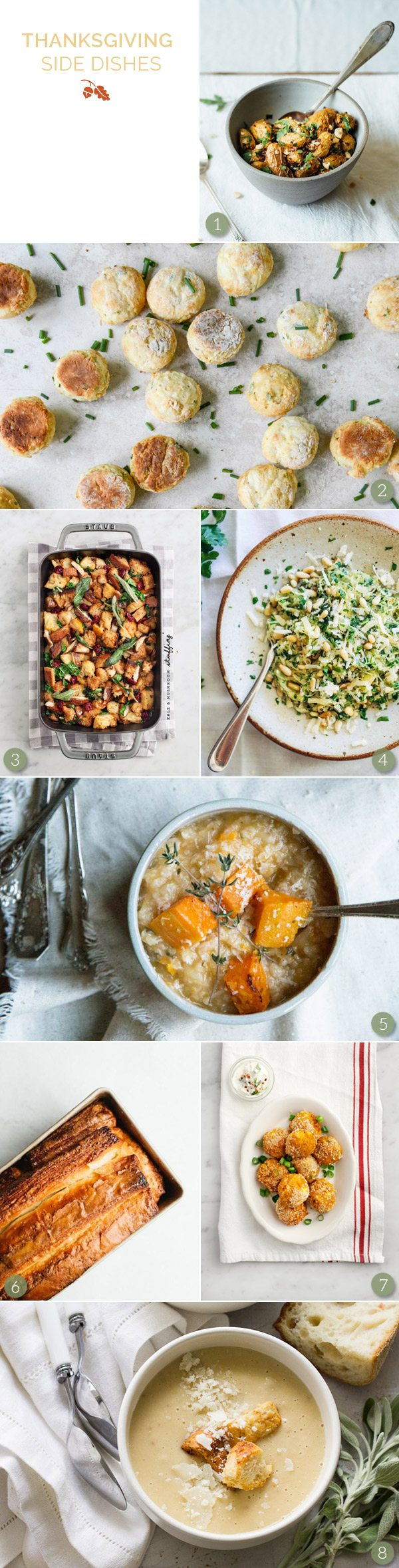 Vegetarian and Vegan Thanksgiving Dishes from @cydconverse