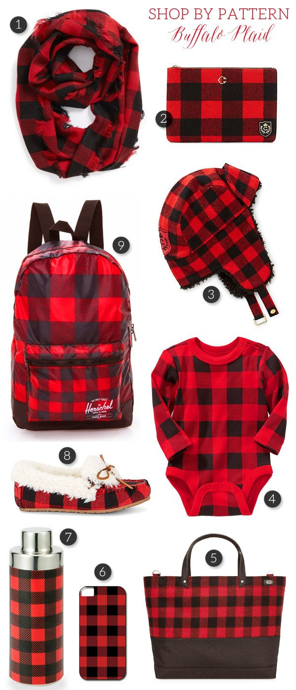 Shop by Pattern: Buffalo Plaid from @cydconverse