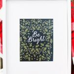 Last Minute Gift Idea: Printable Christmas Art Print