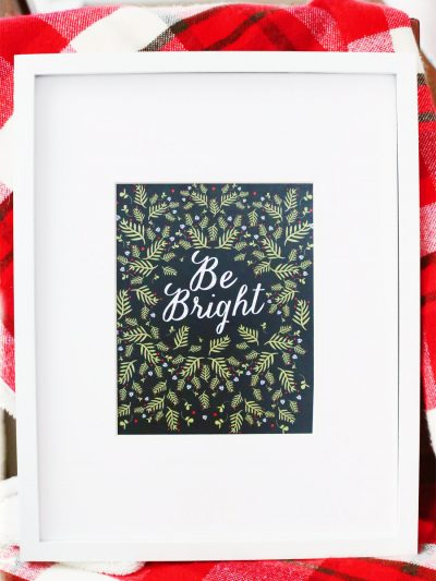 Printable Christmas Art Print thumbnail