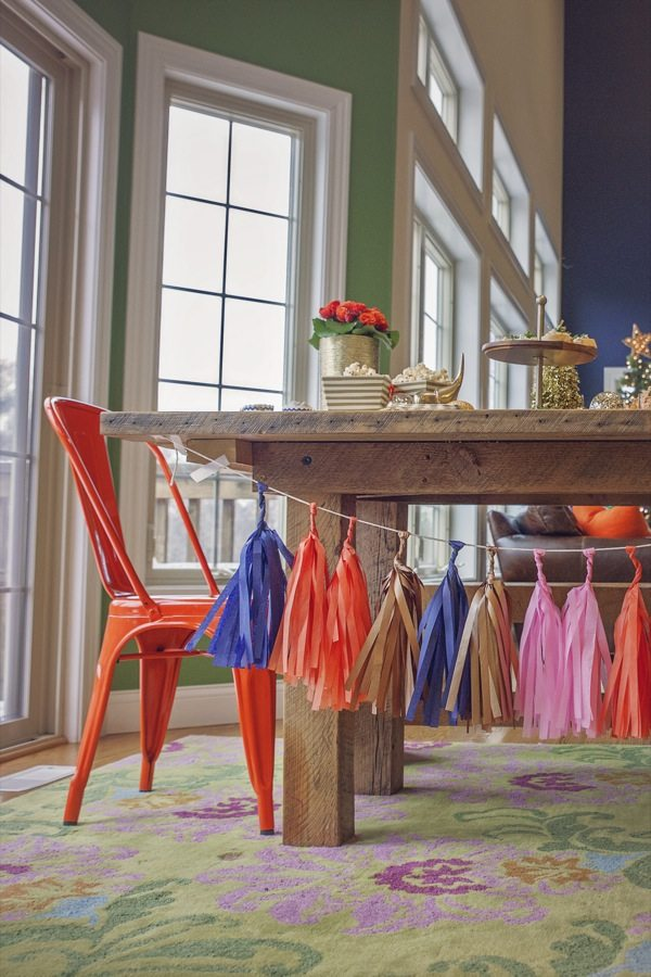 A Colorful and Festive New Year's Eve Party from @cydconverse