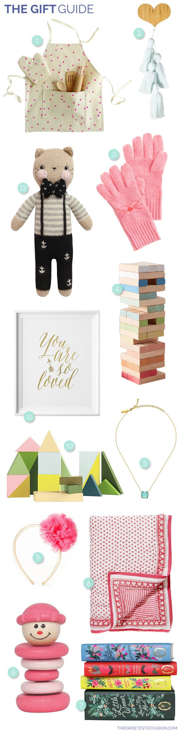 The Gift Guide: Gifts for Girls from @cydconverse