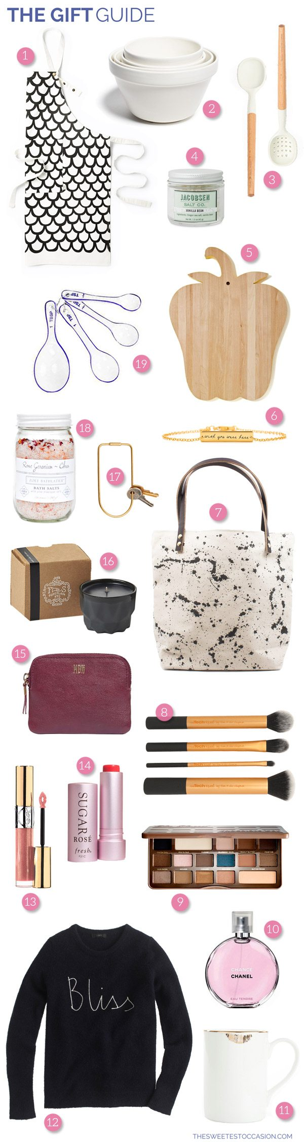 The Gift Guide: Gifts for Her from @cydconverse