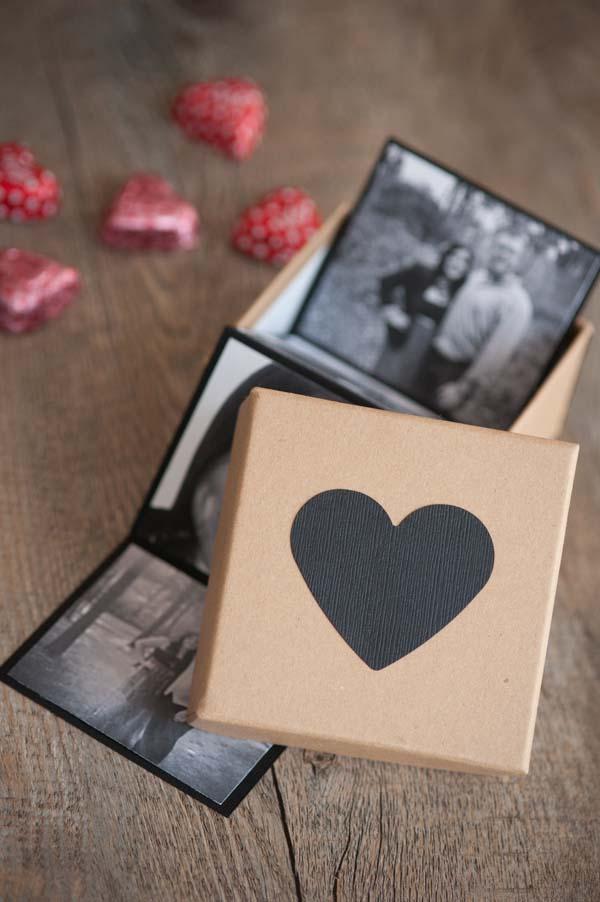 DIY Photo Strip Valentines by @cydconverse