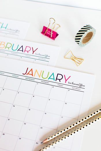 10 Best Printables to Get Organized in 2015 thumbnail