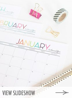 10 Best Printables to Get Organized in 2015 from @cydconverse