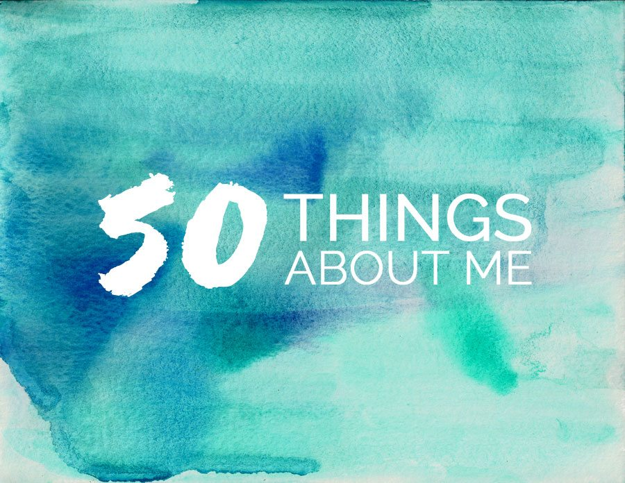 50 Things About Me with @cydconverse