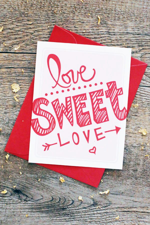 Valentine's Day Printables from @cydconverse