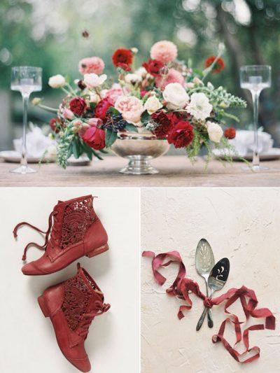 Color Palette: Marsala + Rose thumbnail