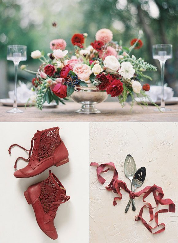 Color Palette: Marsala and Rose by @cydconverse