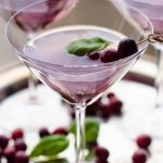 Cranberry Basil Cosmopolitan