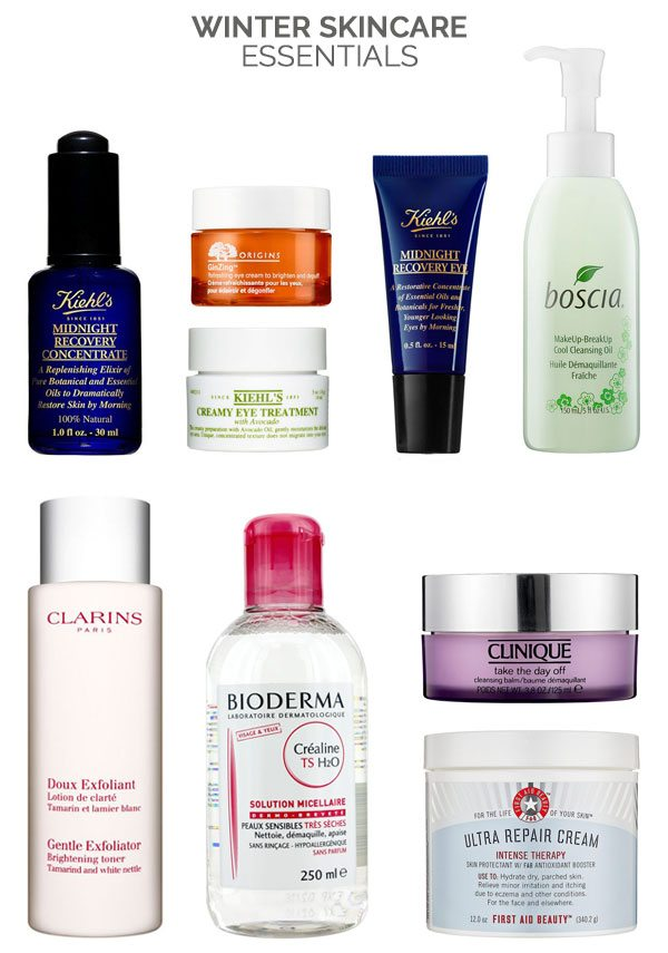 Winter Skincare Essentials from @cydconverse