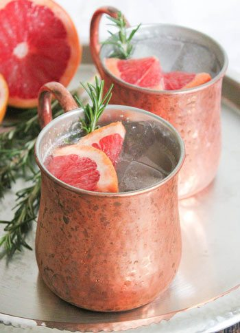 Grapefruit Rosemary Moscow Mule