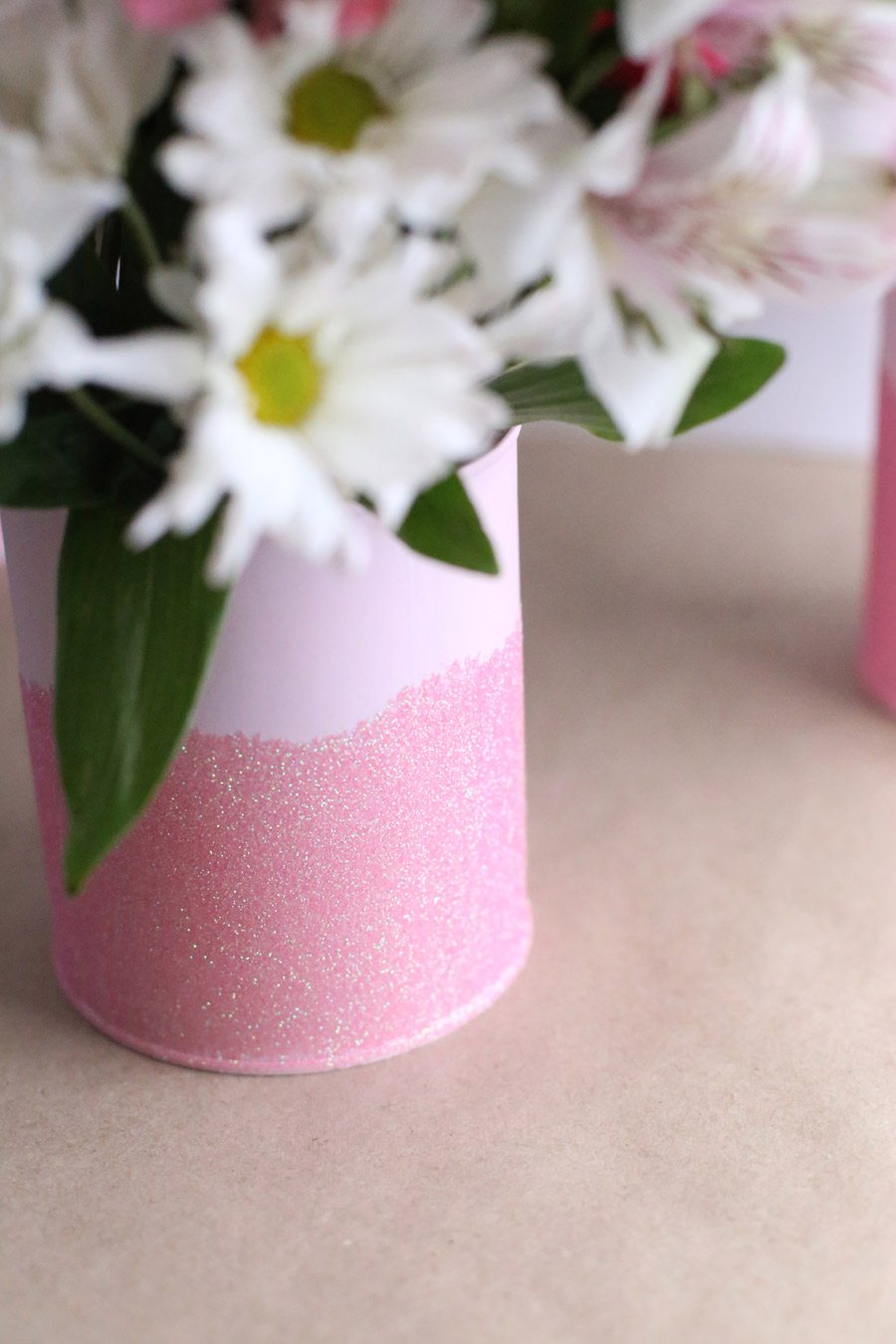Diy mini paint can glitter vases the sweetest occasion diy mini paint can glitter vases by cydconverse reviewsmspy