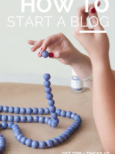 My Tips for How to Start a Blog thumbnail
