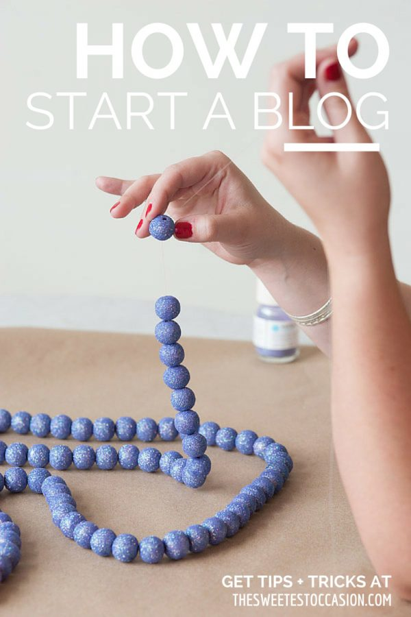 How to Start a Blog from @cydconverse