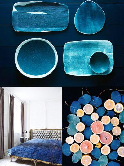 Color Palette: Sapphire + Grapefruit thumbnail