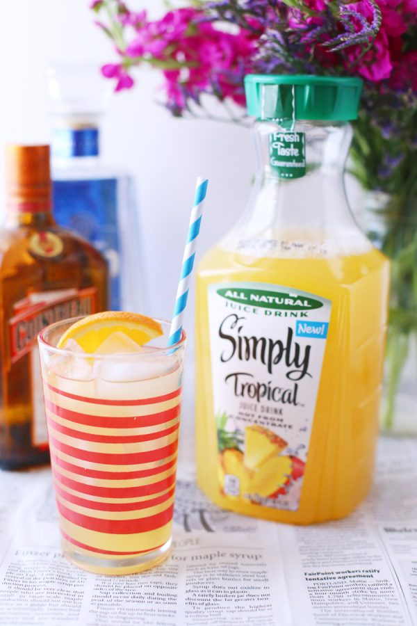 Simply Tropical Margarita from @cydconverse