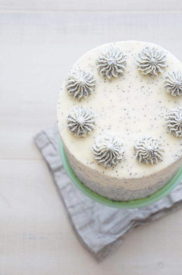 Pear and Poppy Seed Layer Cake from @cydconverse