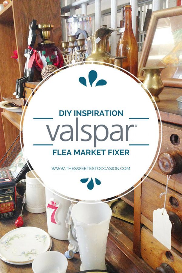 The Flea Market Fixer Challenge with @cydconverse and @valsparpaint