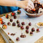 Chocolate Covered Vodka Cherries
