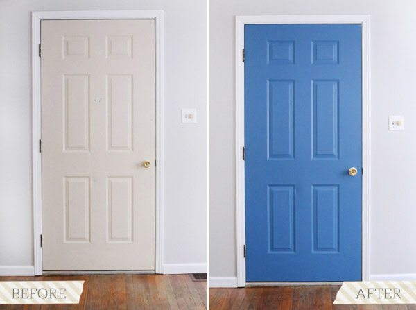 How to Paint a Door with @cydconverse and @valsparpaint