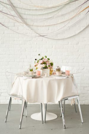 Easter Brunch Tablescape from @cydconverse