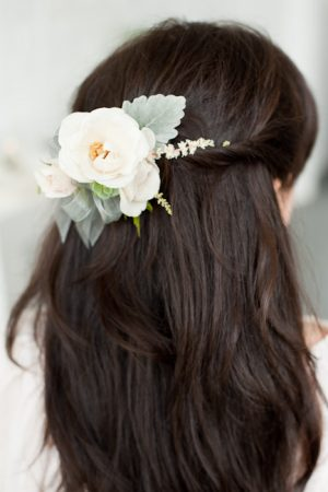 Hair Flower from @cydconverse